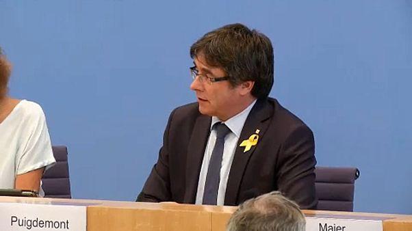 Puigdemont vuelve a Bruselas tras el levantamiento de la euroorden