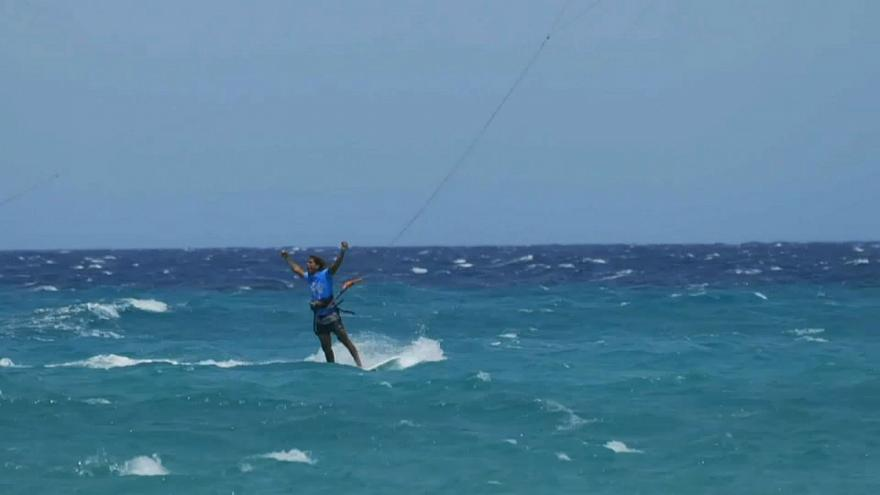 uçurtma sörfü, fuerteventura