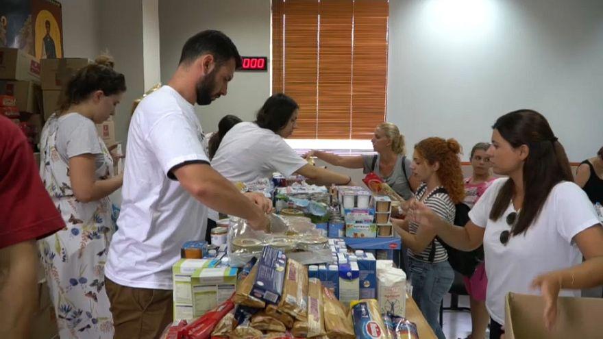 Grécia mobilizada na ajuda às vítimas dos incêndios