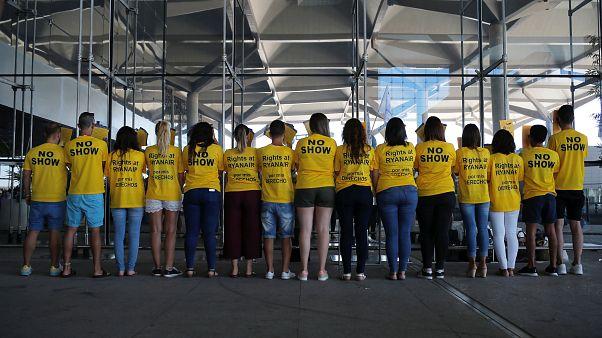1. Ryanair-Streiktag trifft Tausende Passagiere