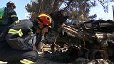 80 mortos confirmados na Grécia