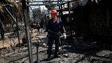A tűzben eltűnteket keresik Görögországban