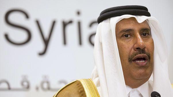 رئيس وزراء قطر السابق يدعو للتعايش مع إيران وضاحي خلفان يرد