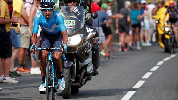 """""""Тур де Франс"""": уверенная победа Кинтаны"""