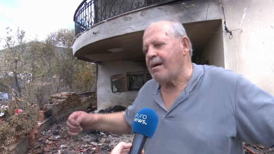 """""""Em três minutos, o fogo parece que explodiu e chegou à minha casa"""""""