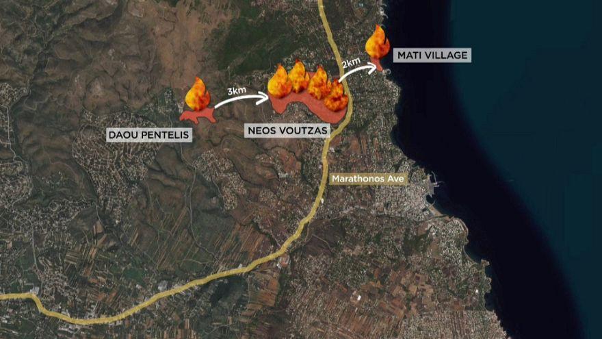 Grecia: tutto distrutto in pochi minuti