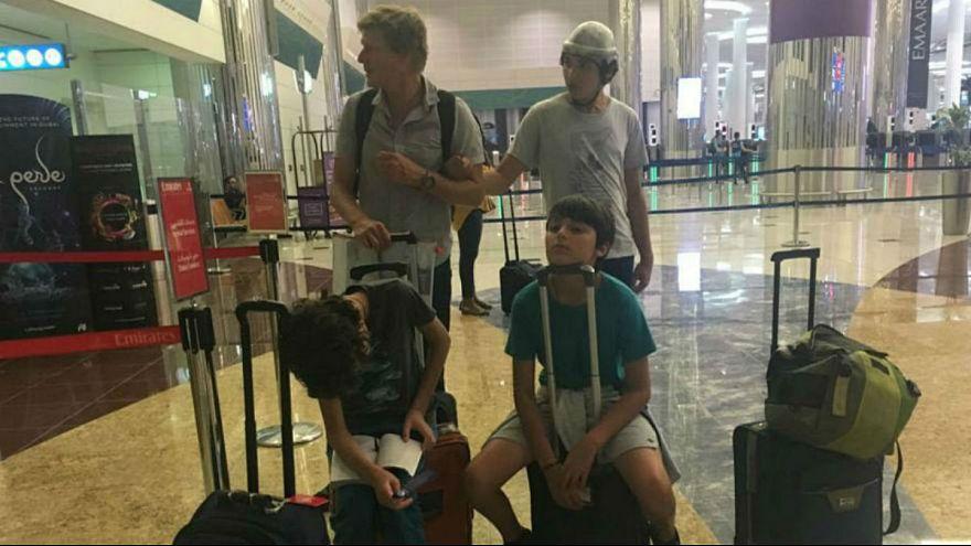 هواپیمایی امارات از سفر نوجوان معلول جلوگیری کرد