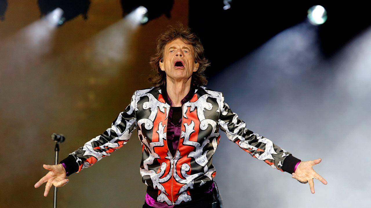 Un incombustible Mick Jagger cumple 75 años