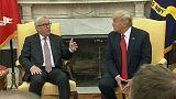Juncker y Trump buscan acuerdos