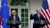 """Juncker-Trump: verso """"zero tariffe doganali"""" (tranne le auto)"""