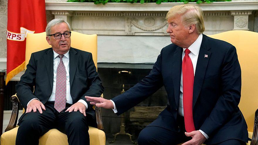 ABD Başkanı Trump, Avrupa Komisyonu Başkanı Jean-Claude Juncker ile görüştü