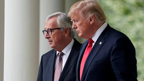 Ε.Ε.-Η.Π.Α.: Εμπορική ανακωχή έφερε η συνάντηση Τραμπ-Γιούνκερ