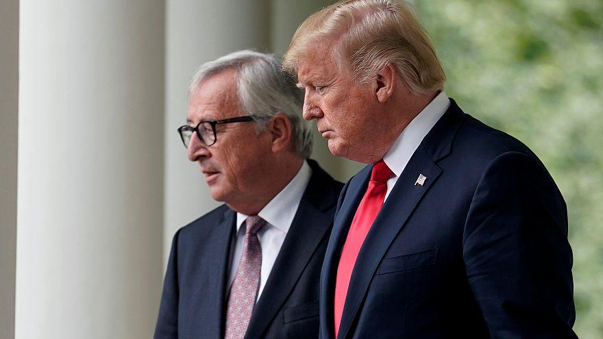 EUA e UE evitam guerra comercial