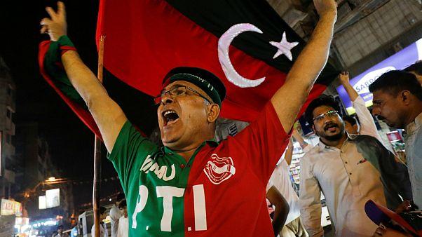پیشتازی حزب تحریک انصاف به رهبری عمرانخان در انتخابات پاکستان