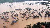 Laos'ta çöken baraj sonrası acil gıda ve ilaç ihtiyacı