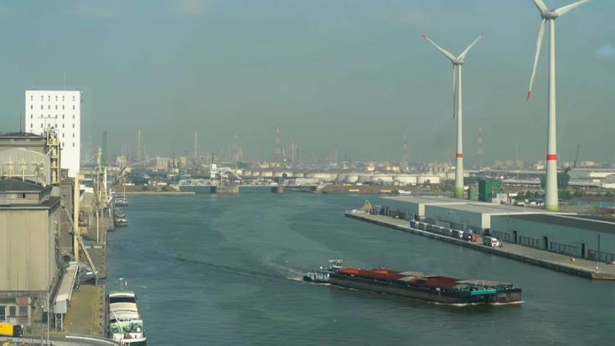 Antwerp port steels for trade tariff blowback