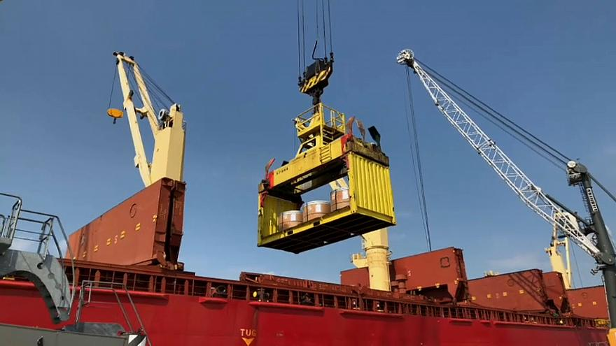 Antwerpen hängt am Stahlhandel