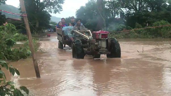 Dammbruch in Laos: Hunderte Menschen vermisst, mehrere Tote