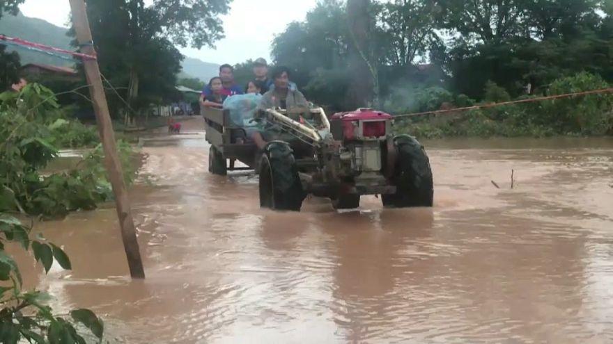 Effondrement d'un barrage au Laos : l'eau gagne le Cambodge