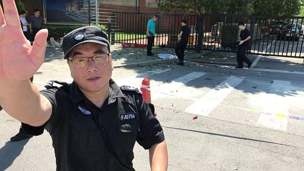 Explosion à l'ambassade des États-Unis à Pékin