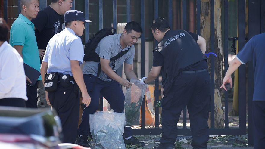 Explosión cerca de la embajada de EEUU en Pekín