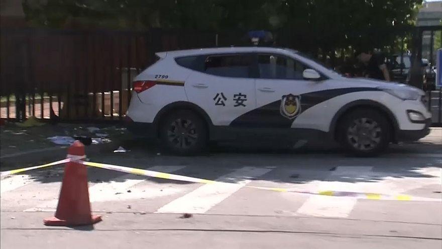 Взрыв у посольства США в Пекине