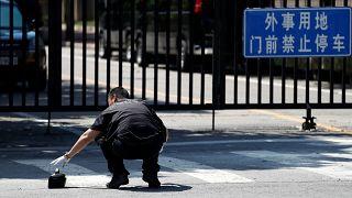 Explosion vor US-Botschaft in Peking