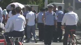 Kisebb robbanás az USA pekingi nagykövetségénél