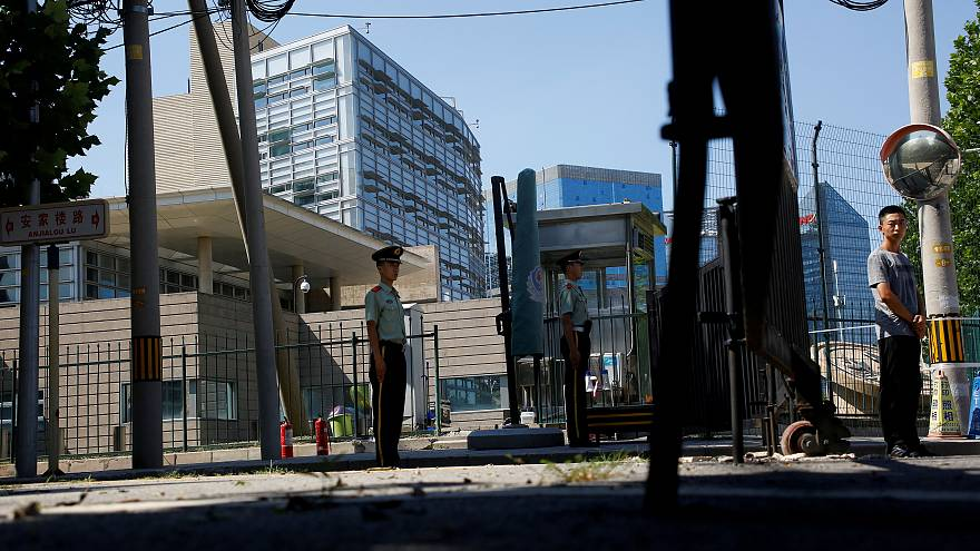 Explosion outside US embassy in Beijing