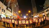 Multitudinaria manifestación en Chile a favor del aborto