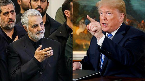 Kasım Süleymani ve Donald Trump