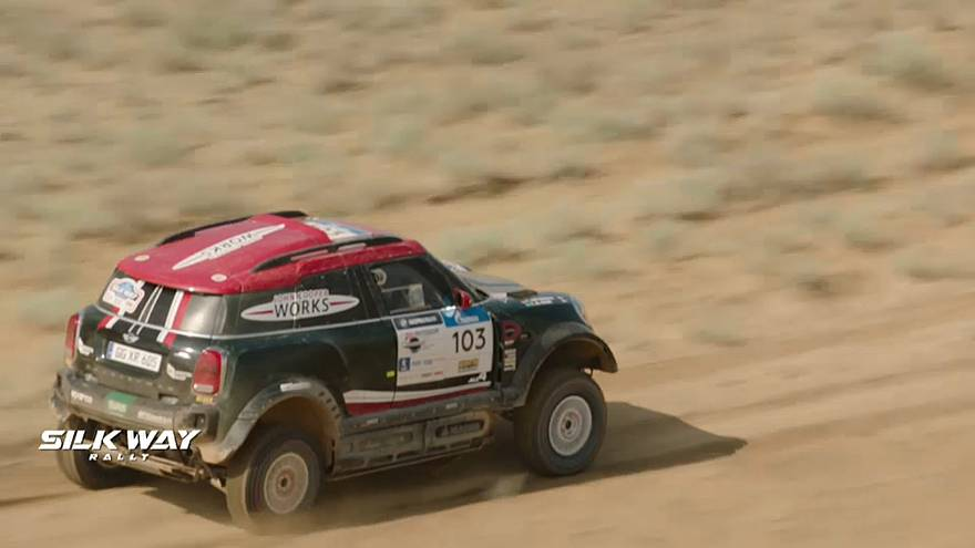 Finaliza la Octava edición del Silk Way Rally