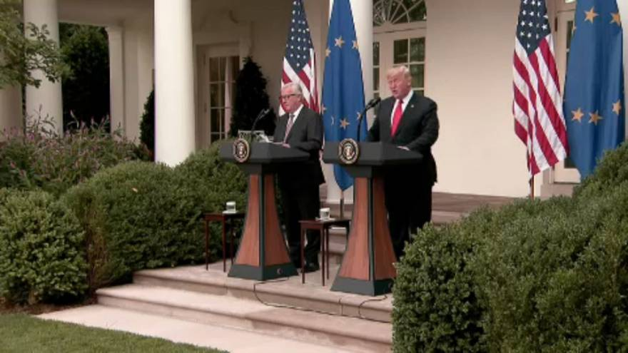 EU breathes sign of relief over transatlantic trade row