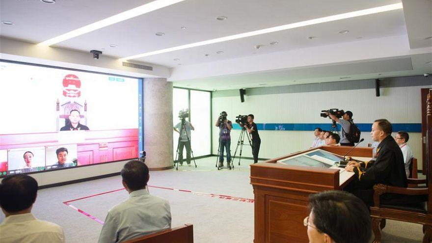 Çin'de internet mahkemelerinde sanal duruşma dönemi
