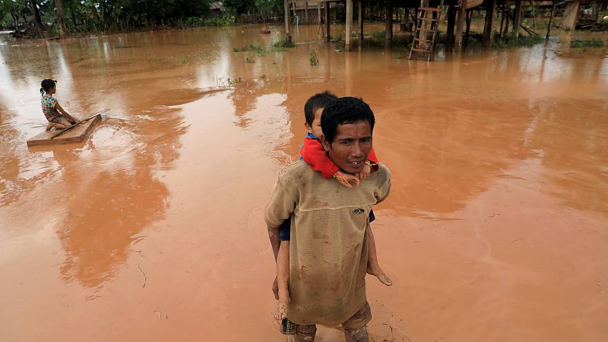 Laos dam collapse: 24 reported dead and nearly 131 missing