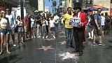 Porrá zúzták Trump csillagát