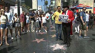 Vandalizzata la stella di trump sulla Walk of Fame