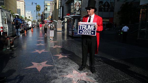 Létoile De Trump Sur Hollywood Boulevard Vandalisée Euronews