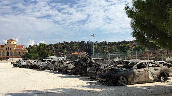 Atina yangınında kül olan Anadolu Rumlarının kurduğu mahalleler