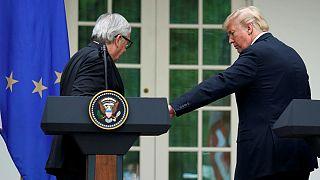 U.S. President Trump and Juncker