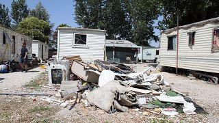 Italienische Behörden räumen Roma-Lager