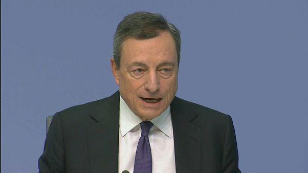 Draghi mantiene sus planes para la eurozona pese a la incertidumbre comercial