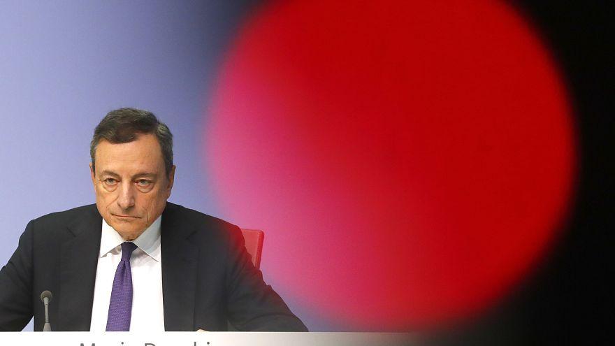 """Draghi: """"Economia europea stabilizzata"""""""