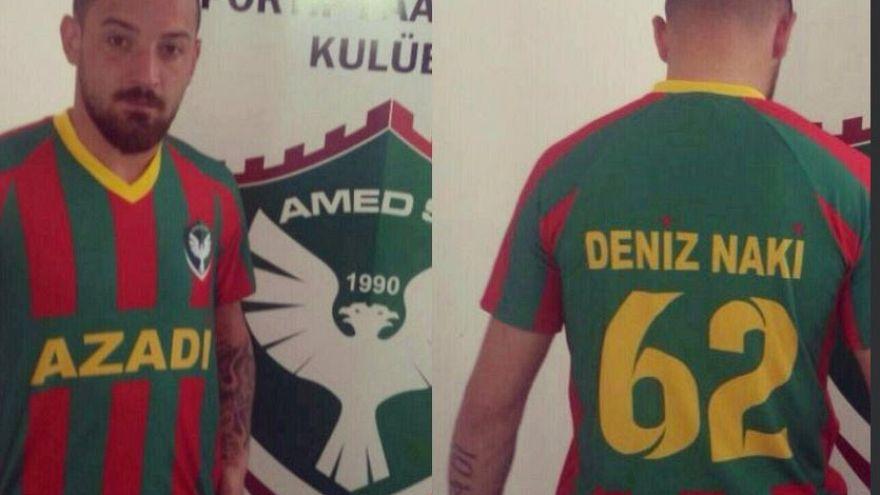 Deniz Naki'den Mesut Özil paylaşımı: Beni neden terörist gördüler