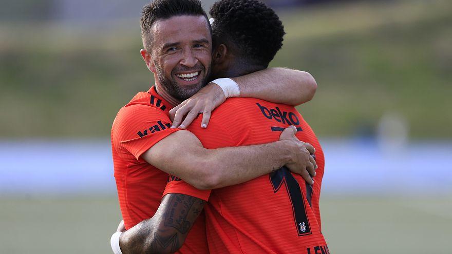 Kara Kartal sezonun ilk Avrupa maçını kazandı: 2-0