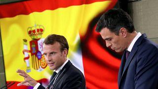 Macron n'est pas favorable à un accord commercial avec les Etats-Unis