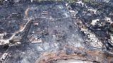 اليونان: حرائق الغابات قرب أثينا قد تكون متعمدة