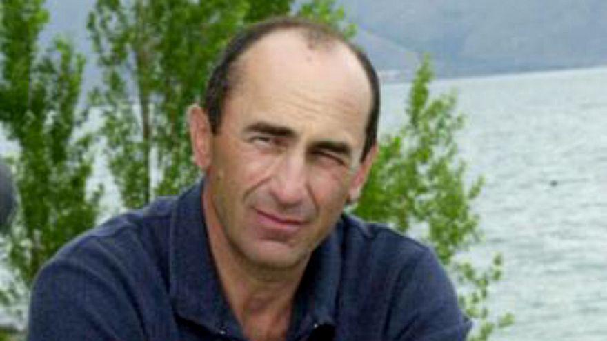Ermenistan eski cumhurbaşkanı Koçaryan hakkında yakalama kararı çıkarıldı