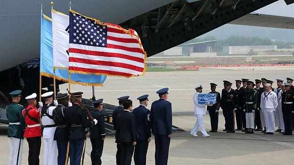 ترامپ بابت انتقال باقیمانده اجساد سربازان آمریکا از رهبر کره شمالی تشکر کرد
