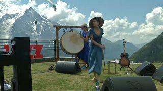 Jazzfesztivál a Mont Blanc lábánál